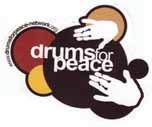 drum for peace logo